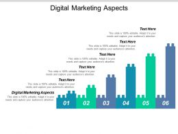 Digital Marketing Aspects Ppt Powerpoint Presentation Icon Slide Cpb