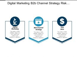 Digital Marketing B2b Channel Strategy Risk Management Digital Marketing Cpb