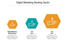 Digital Marketing Banking Sector Ppt Powerpoint Presentation Inspiration Sample Cpb