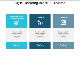 Digital Marketing Benefit Businesses Ppt Powerpoint Presentation Ideas Design Ideas Cpb