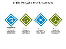 Digital Marketing Brand Awareness Ppt Powerpoint Presentation Portfolio Templates Cpb