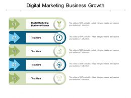 Digital Marketing Business Growth Ppt Powerpoint Presentation Model Picture Cpb