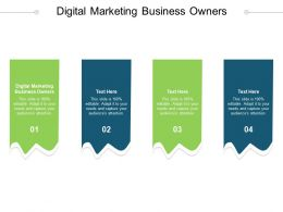 Digital Marketing Business Owners Ppt Powerpoint Presentation File Ideas Cpb
