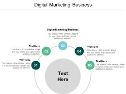 Digital Marketing Business Ppt Powerpoint Presentation File Layout Ideas Cpb