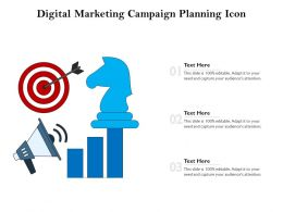 Digital Marketing Campaign Planning Icon