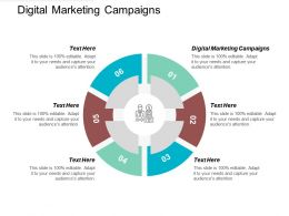 Digital Marketing Campaigns Ppt Powerpoint Presentation File Brochure Cpb