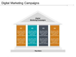 Digital Marketing Campaigns Ppt Powerpoint Presentation File Show Cpb