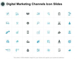 Digital Marketing Channels Icon Slides Team I362 Ppt Powerpoint Presentation Infographics
