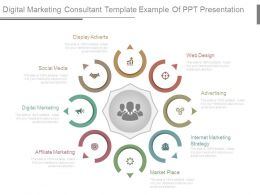 Digital Marketing Consultant Template Example Of Ppt Presentation
