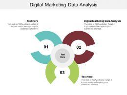 Digital Marketing Data Analysis Ppt Powerpoint Presentation Gallery Slide Portrait Cpb