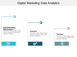 Digital Marketing Data Analytics Ppt Powerpoint Presentation Model Mockup Cpb