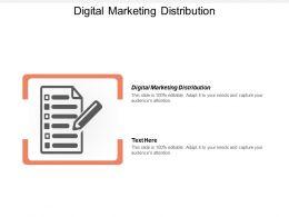 Digital Marketing Distribution Ppt Powerpoint Presentation File Designs Cpb