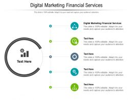 Digital Marketing Financial Services Ppt Powerpoint Presentation Gallery Professional Cpb
