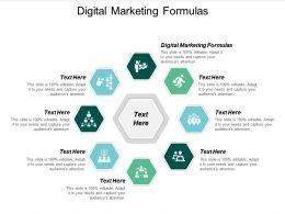 Digital Marketing Formulas Ppt Powerpoint Presentation Gallery Inspiration Cpb