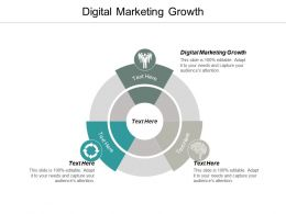 Digital Marketing Growth Ppt Powerpoint Presentation Ideas Design Templates Cpb