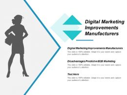 Digital Marketing Improvements Manufacturers Disadvantages Predictive B2b Marketing Cpb