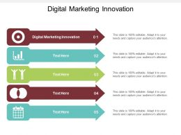 Digital Marketing Innovation Ppt Powerpoint Presentation Icon Influencers Cpb