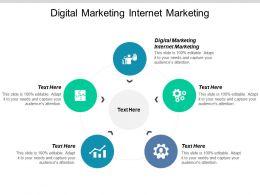 Digital Marketing Internet Marketing Ppt Powerpoint Presentation Icon Example Topic Cpb