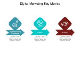 Digital Marketing Key Metrics Ppt Powerpoint Presentation Pictures Mockup Cpb