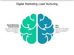 Digital Marketing Lead Nurturing Ppt Powerpoint Presentation Gallery Styles Cpb