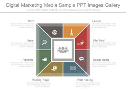 Digital Marketing Media Sample Ppt Images Gallery