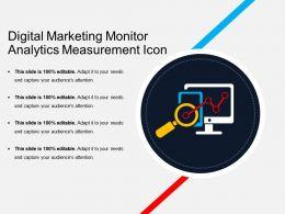 Digital Marketing Monitor Analytics Measurement Icons 02
