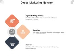 Digital Marketing Network Ppt Powerpoint Presentation File Slideshow Cpb