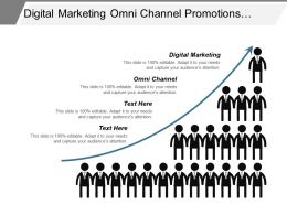 Digital Marketing Omni Channel Promotions Management Leadership Development Cpb