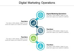 Digital Marketing Operations Ppt Powerpoint Presentation Outline Examples Cpb