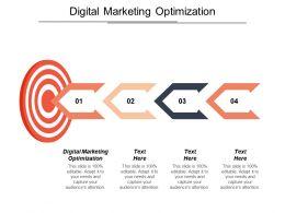 Digital Marketing Optimization Ppt Powerpoint Presentation File Smartart Cpb