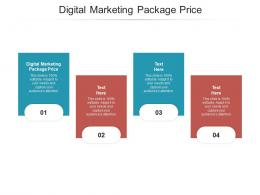 Digital Marketing Package Price Ppt Powerpoint Presentation Layouts Slides Cpb