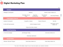 Digital Marketing Plan Roll Paid Ppt Powerpoint Presentation File Picture