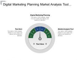 Digital Marketing Planning Market Analysis Tool Product Sampling Promotion Cpb