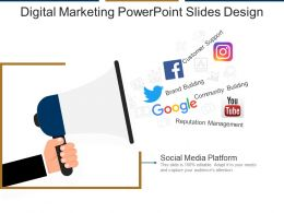 Digital Marketing Powerpoint Slides Design