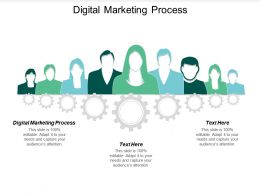 Digital Marketing Process Ppt Powerpoint Presentation Gallery Introduction Cpb