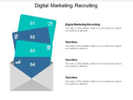 Digital Marketing Recruiting Ppt Powerpoint Presentation Icon Diagrams Cpb
