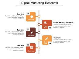 Digital Marketing Research Ppt Powerpoint Presentation File Elements Cpb