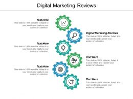 Digital Marketing Reviews Ppt Powerpoint Presentation Gallery Example Cpb