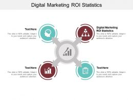 Digital Marketing ROI Statistics Ppt Powerpoint Presentation Gallery Slideshow Cpb