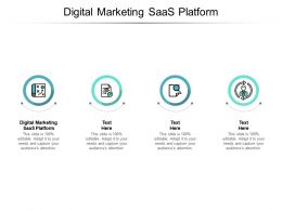 Digital Marketing SaaS Platform Ppt Powerpoint Presentation Outline Rules Cpb