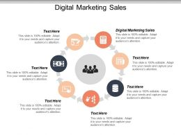 Digital Marketing Sales Ppt Powerpoint Presentation File Structure Cpb
