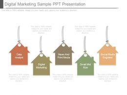 Digital Marketing Sample Ppt Presentation