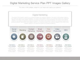 Digital Marketing Service Plan Ppt Images Gallery