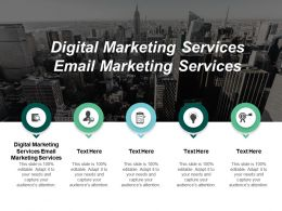 Digital Marketing Services Email Marketing Services Ppt Powerpoint Presentation Slides Guidelines Cpb