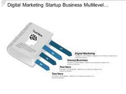 Digital Marketing Startup Business Multilevel Marketing Database Management Cpb