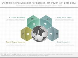 Digital Marketing Strategies For Success Plan Powerpoint Slide Show