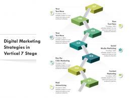 Digital Marketing Strategies In Vertical 7 Stage