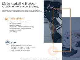 Digital Marketing Strategy Customer Retention Strategy Health And Fitness Clubs Industry Ppt Structure