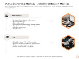 Digital Marketing Strategy Customer Retention Strategy Wellness Industry Overview Ppt Model