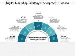 Digital Marketing Strategy Development Process Ppt Powerpoint Format Ideas Cpb